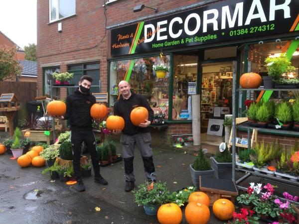 Decormar Hardware Wall Heath pumpkins Halloween